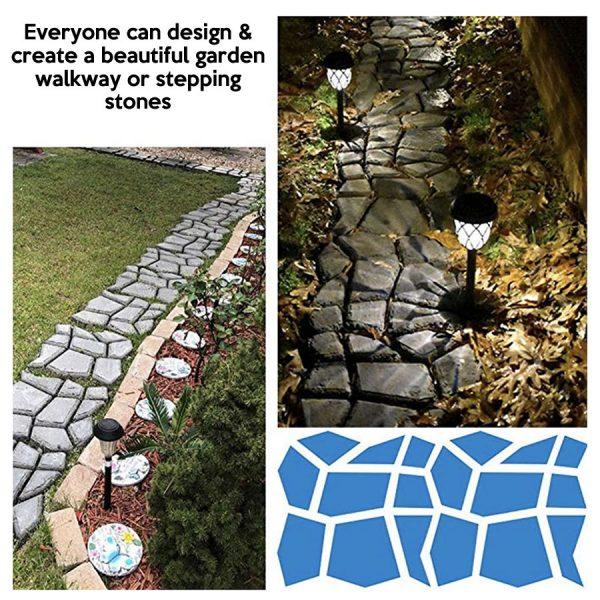 diy stepping stone mold