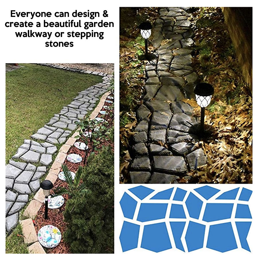 diy stepping stone mold