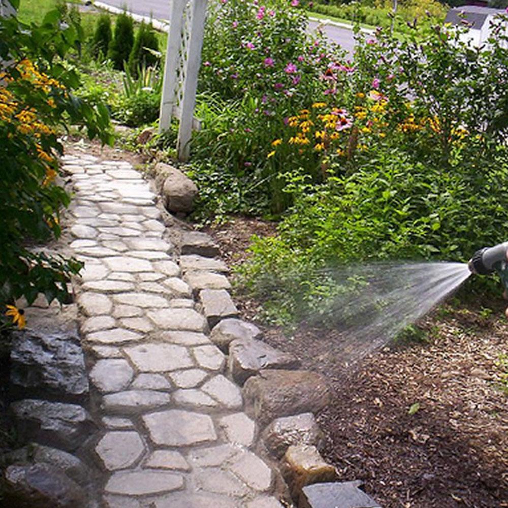 diy concrete walk way molds
